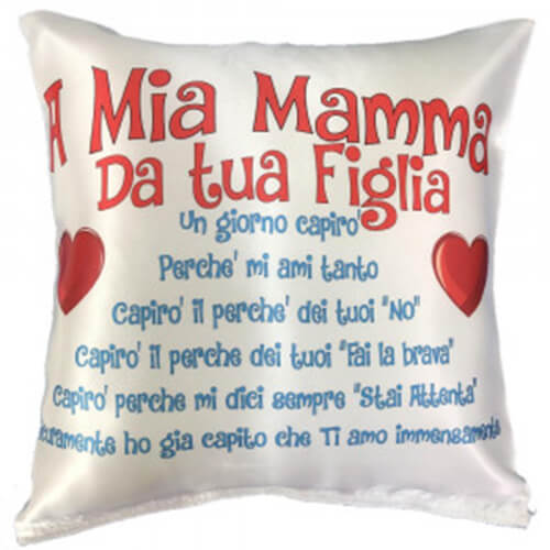 cuscino mamma